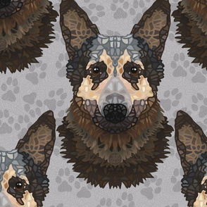 SP 40 2020 LORD PATTERN PAWS LARGE