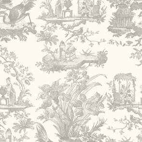 Chinoiserie Toile ~ Javert on Debut