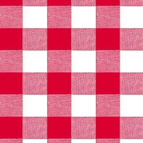 Red Gingham Large