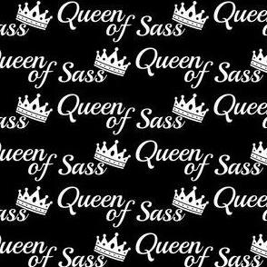 queen of sass black