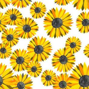 Sunflowers Pattern - Yellow