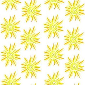 Sunshine Pattern - Yellow and Orange