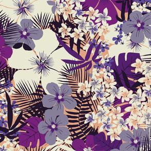 Hawaiian Tropical Floral (Large)