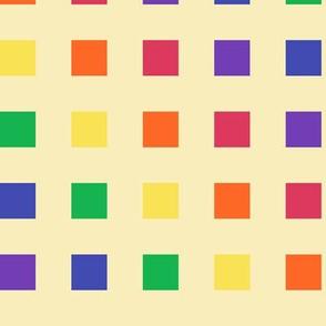 Large - Rainbow Blocks on the Diagonal