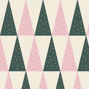 Geometric Christmas Trees