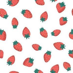 Strawberry Harvest: White