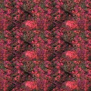 Red & Gray Kaleidoscope Knit