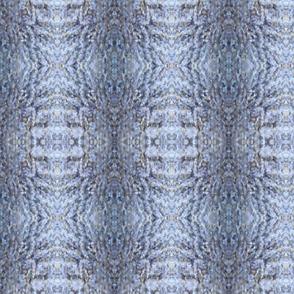 Mottled Soft Blue Knit