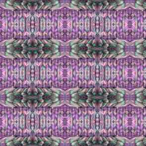 Knit Belting in Purples & Pinks
