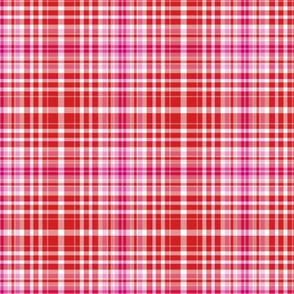 Red Plaid 26, small