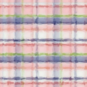 Water Color Plaid