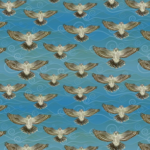 Wavy Owls