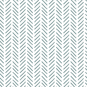 Teal Zizag Lines