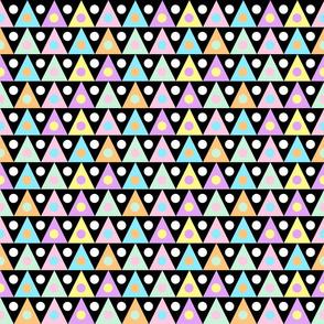 60s mod pastel triangles