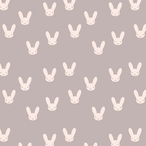 The minimalist boho bunny sweet rabbit design easter spring kids pattern baby nursery ochre yellow cinnamon