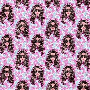 A Little Bit Alexis- Pink Floral