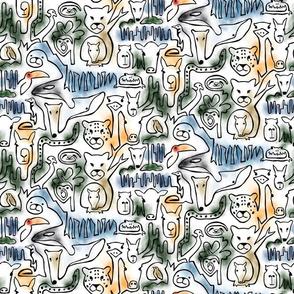 Wild Wild South America - Small Scale
