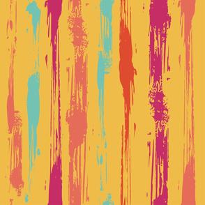 Splat Stripe (Yellow)