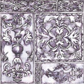 Monochrome tile