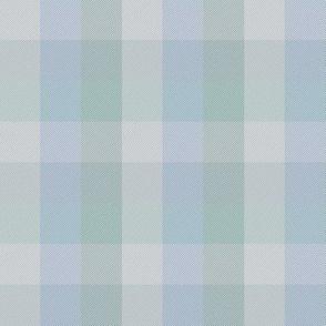 "simple 1""madras -  blue-grey"