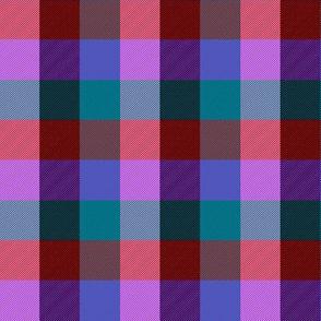 """simple 1""""madras - mad purple"""