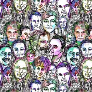 Continuous Line Portraits