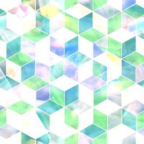 geometric hexo hexagonal sunshine  MED