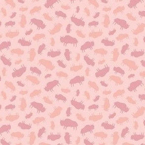 Bison Warm Pinks