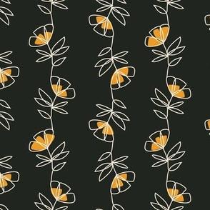 Linear Floral - Luna Collection