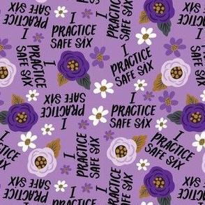 Small-I Practice Safe Six Purple