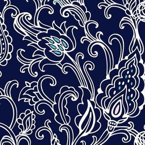 Oriental floral  fantasy