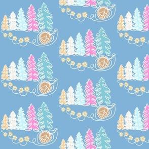 Little Bears Winter Dreams