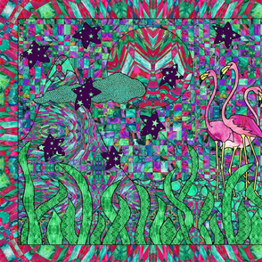 Hidden Objects and Flamingos