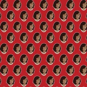 Kamala Harris Mico Vice President on Red