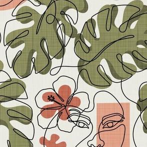 Hawaiian Girl v2 - Contessa Hibiscus