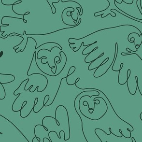 Barn owls - Big scale