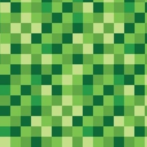 Blocky Gamer Green Small