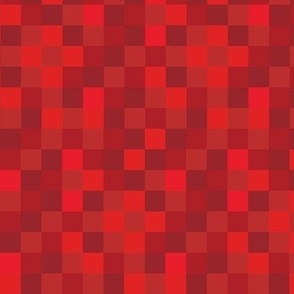 Blocky Gamer Red Small