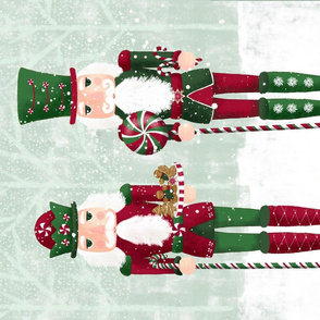 Christmas Nutcracker Tea Towel