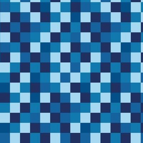 Blocky Gamer Blue Small