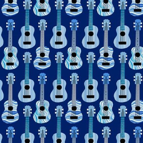 Blue Ukuleles