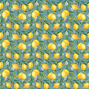 Small Hand-Drawn Lemons