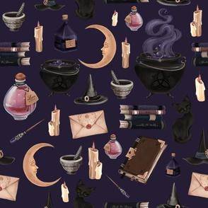 witch deep purple