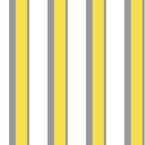 Le Cirque Stripe ~ Trixie and Beatrice on White