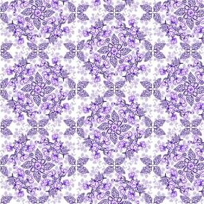 Peonies and Paisley Purple 2