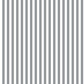 Ultimate Gray and white stripe inspired by Pantone's color of the year 2021