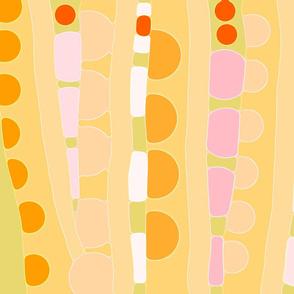 GOLDEN YELLOW STRIPES  wallpaper