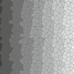 Black & White Voronoi