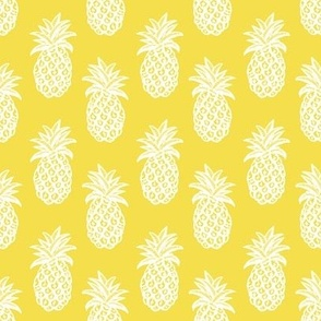 Illuminating yellow pineapple print