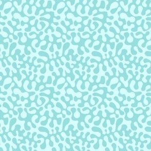 mint green aqua abstract // Matisse inspired // Groovy by Magenta Rose Designs